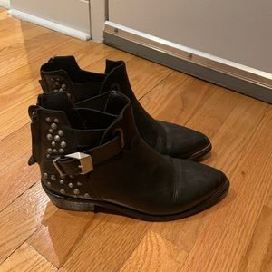 Zara Leather Boots size 6.5